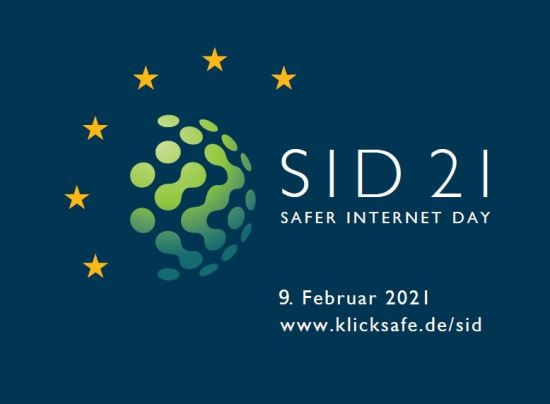 Logo zum Safer Internet Day 2021